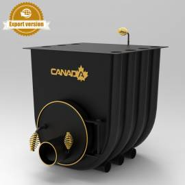 Imagén: Печка на дърва Canada 00 classic, за отопление и готвене - до 130 куб.м