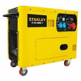 Дизелов генератор Stanley D-SG 6000-1