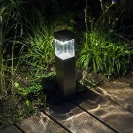 Квадратна соларна лампа Duracelll -  5lm светлинен поток