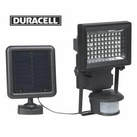 Соларен прожектор 400 лумена със сензор за движение Duracell