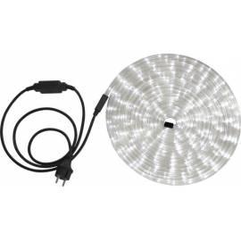 LED светлинен маркуч - 9 м, бял