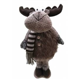 Коледно еленче с шал 50 см