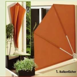 Параван за балкон - оранж - тип Ветрило