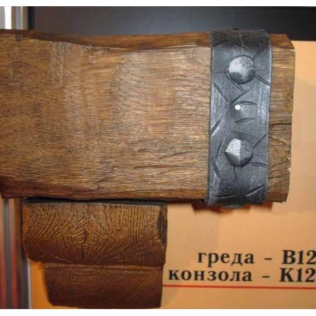 Декоративна PU греда -2м / 20см х 13см /