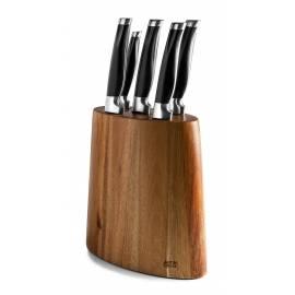 JAMIE OLIVER Комплект от 5 бр ножове в блок от акация