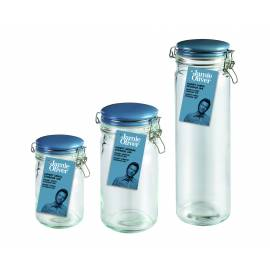 JAMIE OLIVER Буркан за съхранение - малък - син капак JC 8300