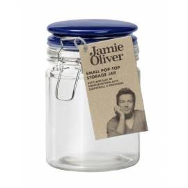 JAMIE OLIVER Буркан за съхранение - малък - тъмно син капак JK 8001