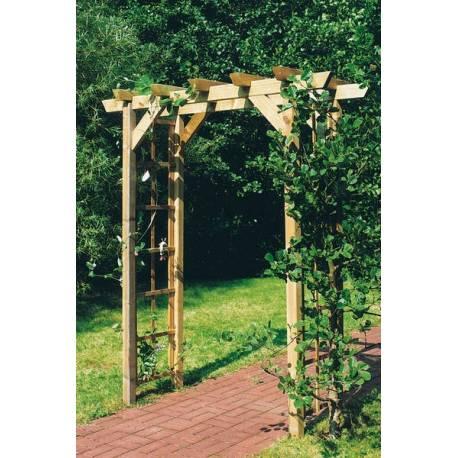 Дървена арка - 240 x 225 x 75 см