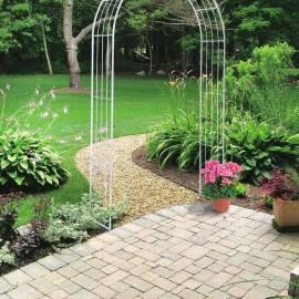 Метална арка за увивни растения