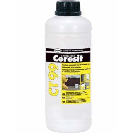 Препарат за почистване на  мухъл и плесен Ceresit CT 99, концентрат, 1 л