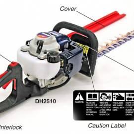 Бензинова моторна ножица за жив плет - SHINDAIWA - DH2510/300