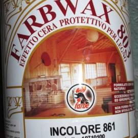 Farbwax 803 - лак за дърво с восък- безцветен