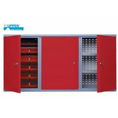 Стенен шкаф  метален - 18 кутии  - 120 x 60 x 19 см