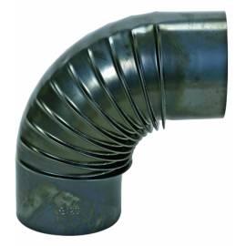 Коляно за кюнец, Ø120 мм, 90°, тъмносин гланц