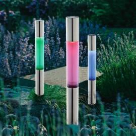 Соларнa лампа 57 см - сменящи се цветове,