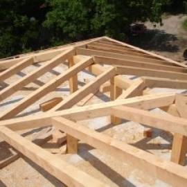 Импрегнатори за дърво на покривни конструкции