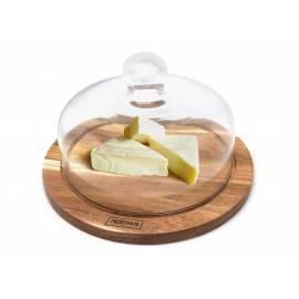 Imagén: Плато за сирена със стъклен капак - Vin Bouquet