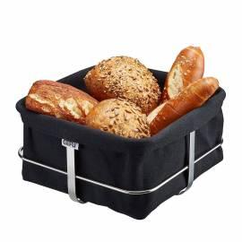 Imagén: GEFU Панер за хляб BRUNCH - квадратен - черен