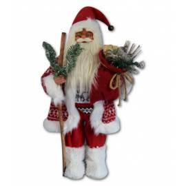 Дядо Коледа - 46 см, червен кожух