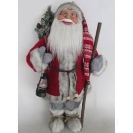Дядо Коледа - 46 см, с фенер