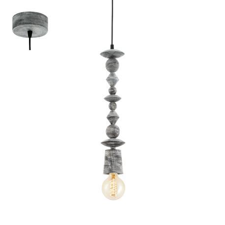 Пендел-висяща лампа 1хE27 черно-патина AVOLTRI