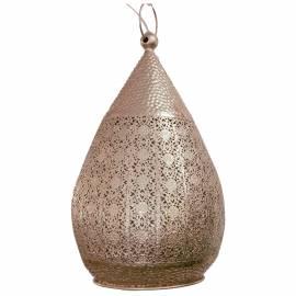 Пендел - висяща лампа 1хE27 Ø250 сребро MELILLA