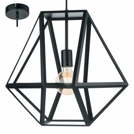 Пендел - висяща лампа 1хE27 Ø460 черно мн. EMBLETON