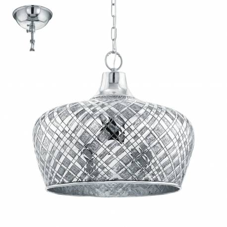 Пендел - висяща лампа 1хE27 Ø515 хром SALTASH