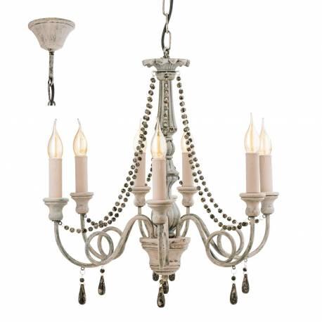 Пендел - висяща лампа 8 E14- антично COLCHESTER