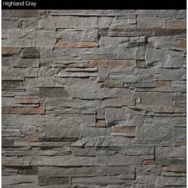 Highland Gray - кашон (плочи) 0.65 кв.м, декоративен камък