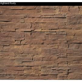 Highland Rusty - кашон (плочи) 0,65 m2 - декоративен камък.