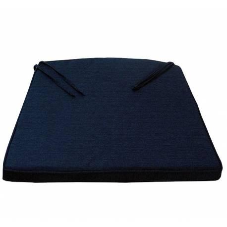 Възлавница за кресло, синя с цип