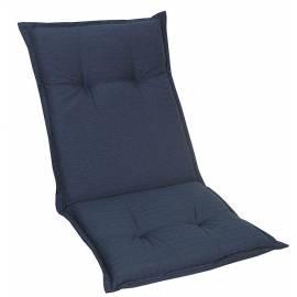 Ниска възлавница за градински стол 109x50x8 см, синя
