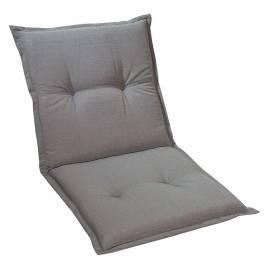 Възглавница за градински стол 95x48x8 см, светлосива