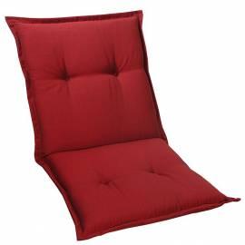 Ниска възлавница за градински стол 104x52x7см, чили