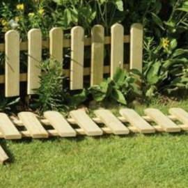Мини огради за градински кътове- 30 x 120см