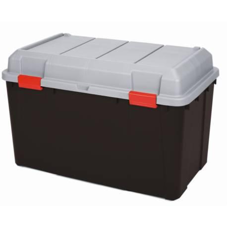 Кутия за съхранение 115 л , с капак - 67х78х46 см,