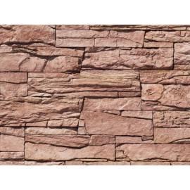 Vivid Decostone flat - red, 1 кв.м кашон, облицовъчен камък