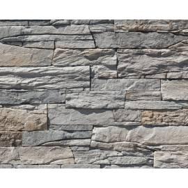 Vivid Decostone flat - Grey, 1 кв.м кашон, облицовъчен камък