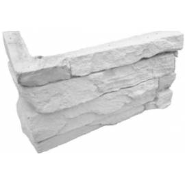 Декоративен ъгъл за камък Анди грей, 2,4 л.м в пакет