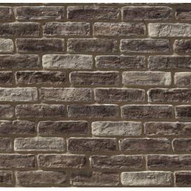 Imagén: Облицовъчни тухлички  Decobrick Brown Flat, 0.93 кв.м