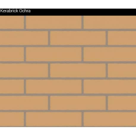 Облицовъчни тухлички Kerabrick ochra Flat 1.32 кв.м