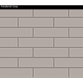 Облицовъчни тухлички Kerabrick Grey Flat 1.32 кв.м