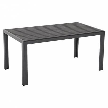 Градинска маса с визия на естествено дърво - 160 x 90 см