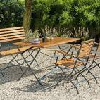 Градинска пейка 3-местна, евкалипт
