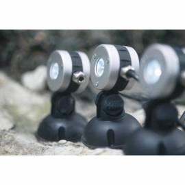 3 броя LED лампи за изкуствено езеро - студено бяла светлина