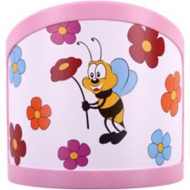 LED детски аплик, 1х0,30 W, мини, пчела - за стена