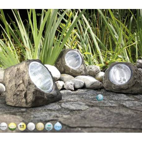 Соларни лампи камъни Rock (3бр.)