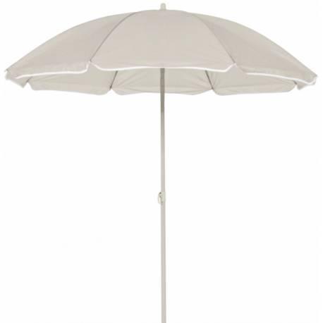 Плажен чадър 1.8 м, сиво-кафяв