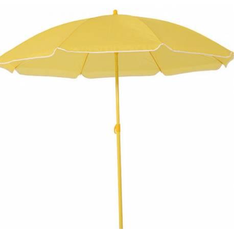 Плажен чадър 1.8 м, жълт